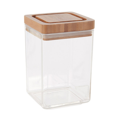 Davis & Waddell 1.4 Litre Canister with Bamboo Lid