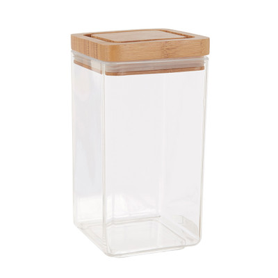 Davis & Waddell 1.8 Litre Canister with Bamboo Lid