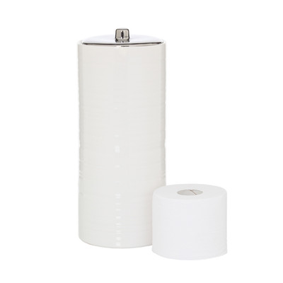 Urban Lines Hush Roll Canister White
