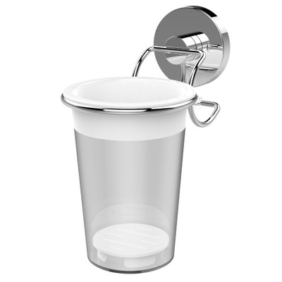 EvoVac Vacuum Fusion Technology Xpressions Suction Bathroom Utensils Cup
