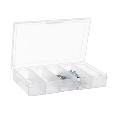 Fischer Small 5 Compartment Storage Box