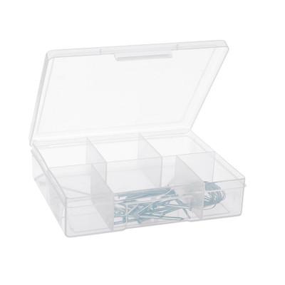 Fischer Medium 6 Compartment Storage Box