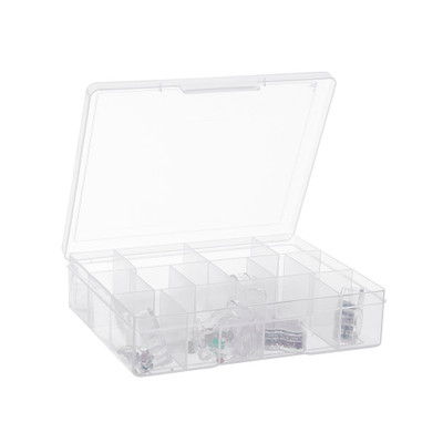 Fischer Medium 14 Compartment Storage Box