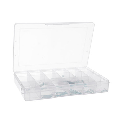 Fischer Large 18 Compartment Storage Box
