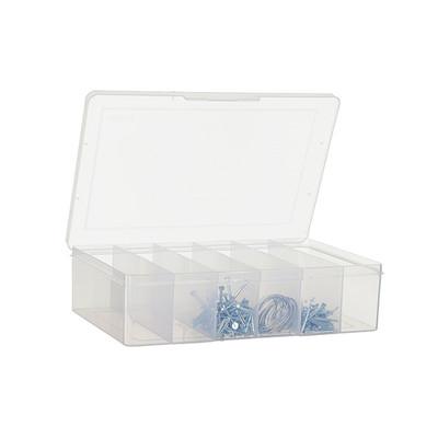 Fischer Large 6 Compartment Storage Box