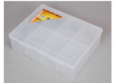 Fischer XL 8 Compartment Storage Box