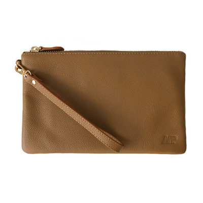 Mighty Purse Wristlet - Brown