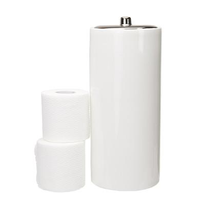 Urban Lines Basics Toilet Roll Holder - White