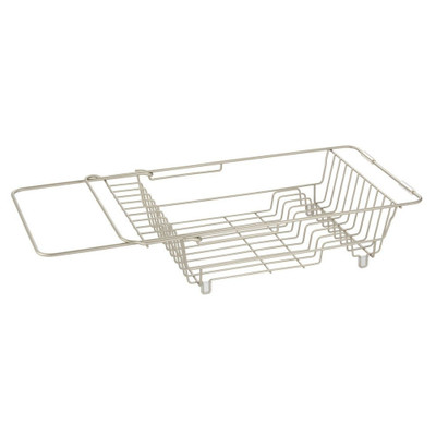 iDesign Classico Expandable Over-The-Sink Dish Drying Rack