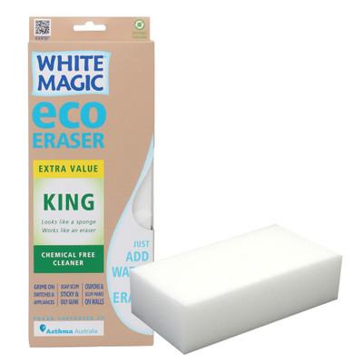 White Magic Microfibre Eraser - King Size Block