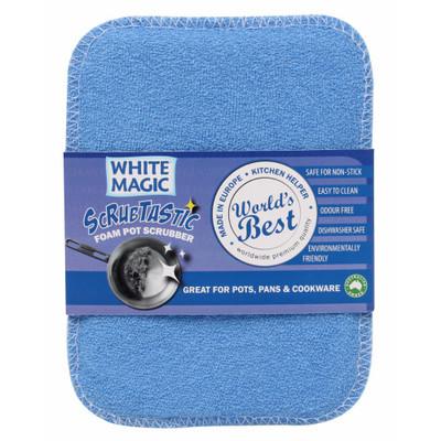 White Magic Scrubtastic Foam Pot Scrubber