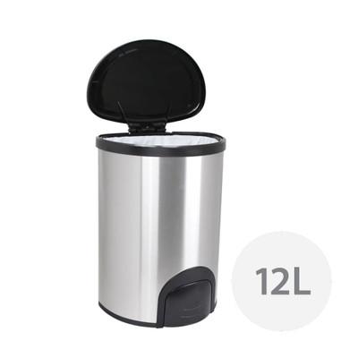 White Magic Smart Bin 12L - Fingerprint Proof Stainless Steel