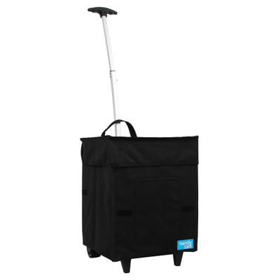 White Magic Handy Cart Shopping Trolley Regular - Midnight