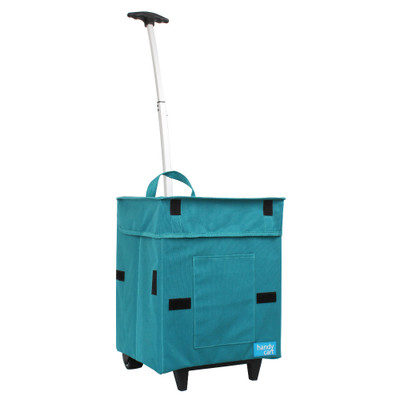 White Magic Handy Cart Shopping Trolley Regular - Tiffany