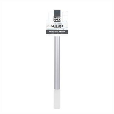 White Magic Microfibre Spin Mop Extension Handle