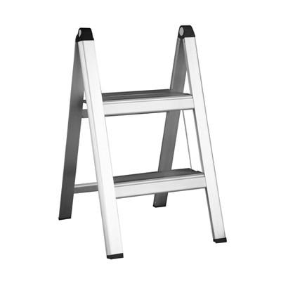 Slimline Folding 2 Step Aluminium Ladder