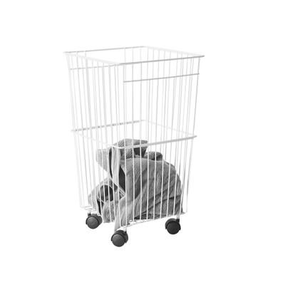 Laundry Basket With Castors