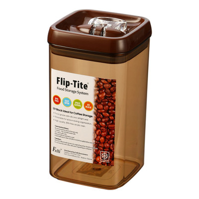 Felli Flip-Tite Food Storage Container Coffee - 2.4L