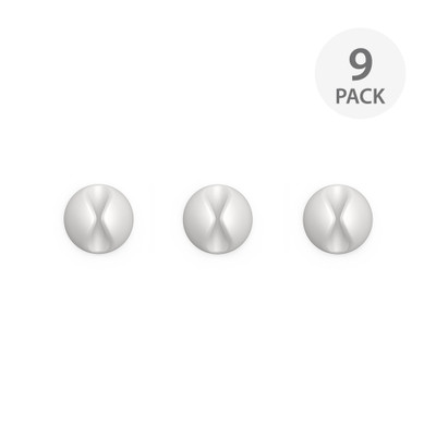 BlueLounge CableDrop Mini 9 Pack - White