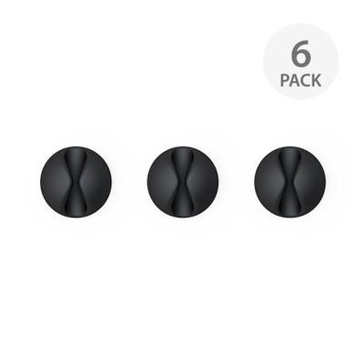 BlueLounge CableDrop 6 Pack - Black