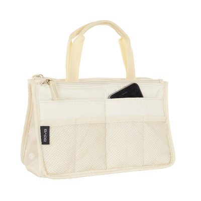 Handbag Insert Organiser - Cream
