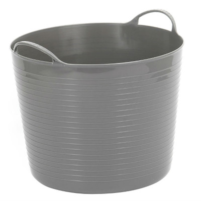 Howards Flexi Storage Tub 40L - Grey