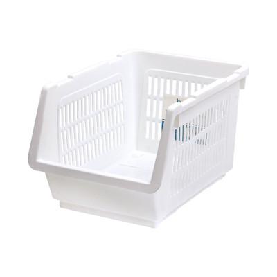 Howards Veggie Stacking Basket Regular - White