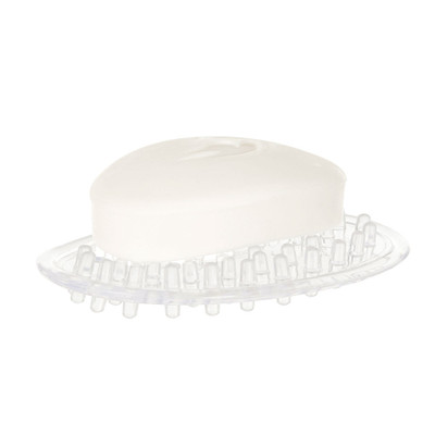 iDesign Plastic Oval Soap Saver