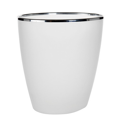 Howards Frosted Rubbish Bin 15L