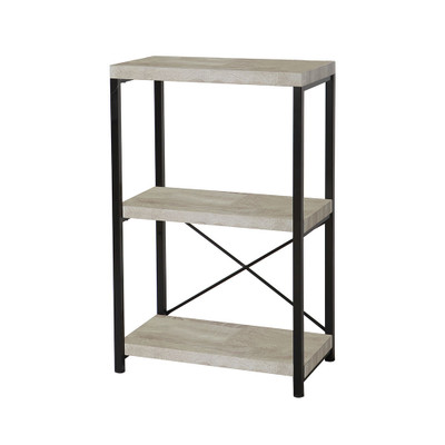 Howards Manhattan Modern Accent 3 Tier Open Shelf Storage Unit