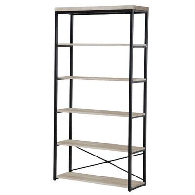 Howards Manhattan Modern Accent 6 Tier Open Shelf Storage Unit