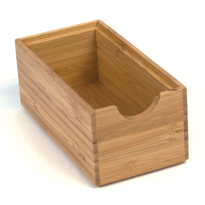 Howards Bamboo Stackable Drawer Organiser - 15.4 x 7.8 x 6.4cm