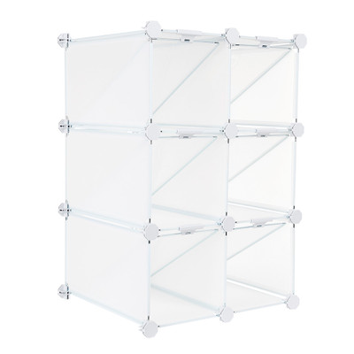 Howards 6 Cube Shoe Grid - For 12 Pairs