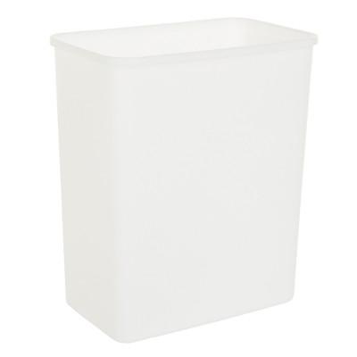 Howards Rectangular Bin 15.8L  - White