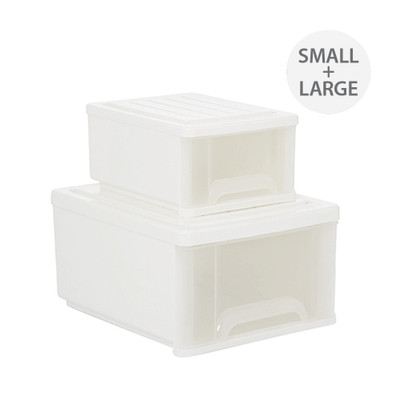 Howards Odeda Stackable Drawers - Set of Two