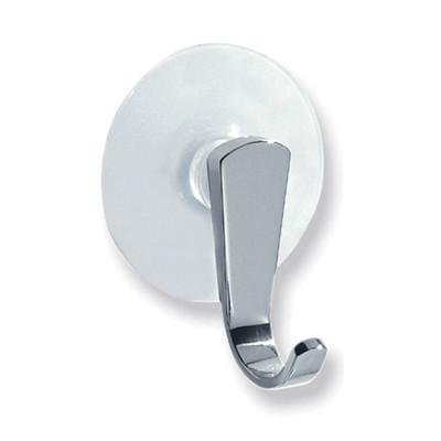 iDesign Suction Cap Chrome Hook