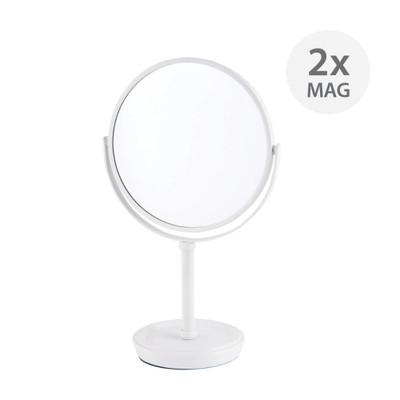 Howards Double Sided Pedestal Mirror - Matt White