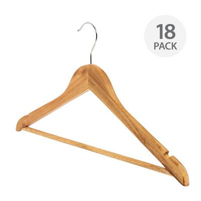 Howards Timber Hanger 18 Pack - Natural