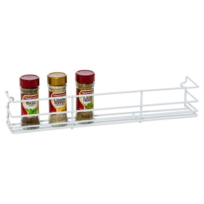 Howards Wire Wall Mountable Spice Rack Medium - White