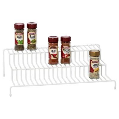 Howards Powder Coated Wire 3-Tier Pantry Shelf Rack - White