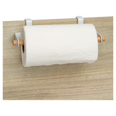 Howards Oskari Over The Door Kitchen Paper Towel Holder - White