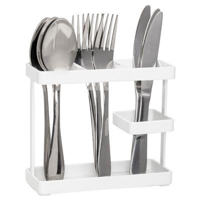Howards Oskari Kitchen Cutlery Holder - White