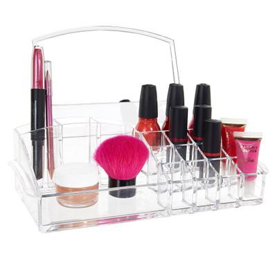 Acrylic Mirrored Cosmetic Organiser