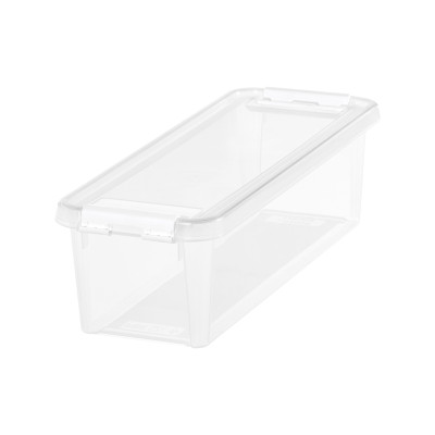 SmartStore Home 4 Storage Box with Lid 3.5L - Clear