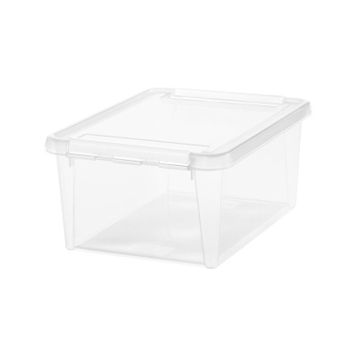SmartStore Home 15 Storage Box with Lid 14L - Clear