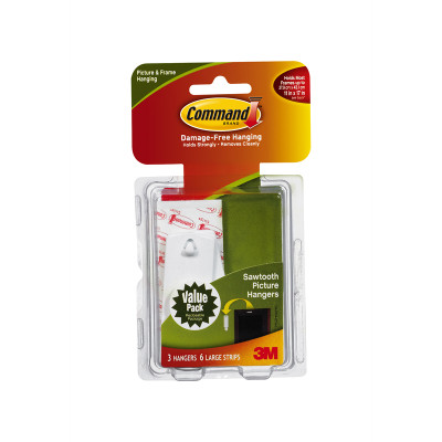 Command 3M Sawtooth Picture Hooks