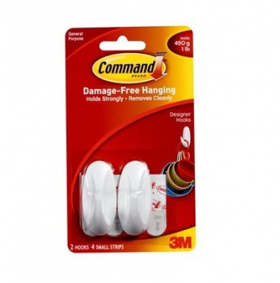 Command Designer Small Adhesive Hook