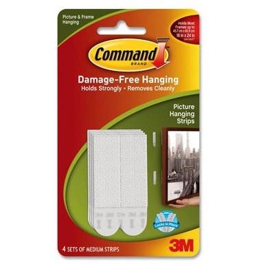 Command Medium Removable Interlocking Fasteners