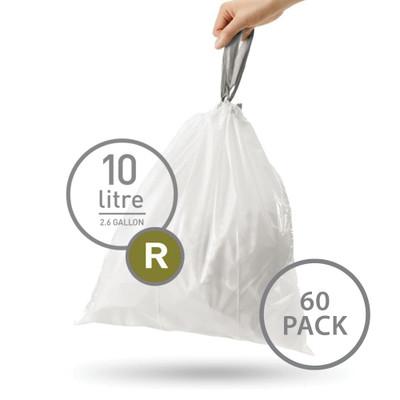 simplehuman Bin Liner 10L Code R - 60 Pack