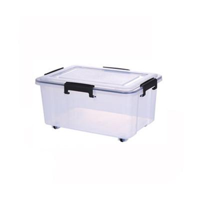 Super Seal Storage Box with Wheels 15L